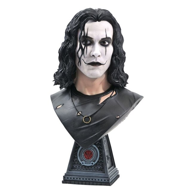 Diamond Select Toys The Crow Legends in 3D Bust 1/2 Eric Draven 25 cm