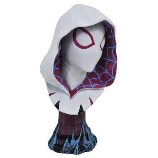 Diamond Select Toys Marvel Legends in 3D Bust 1/2 Spider-Gwen 25 cm