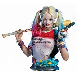 Infinity Studio Suicide Squad Life-Size Bust Harley Quinn 77 cm