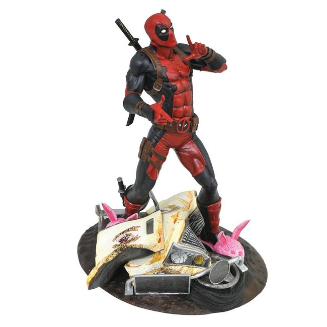 Diamond Select Toys Marvel Gallery PVC Statue Taco Truck Deadpool 25 cm