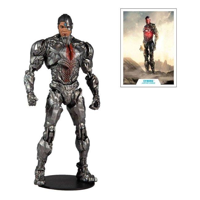 McFarlane DC Justice League Movie Action Figure Cyborg 18 cm