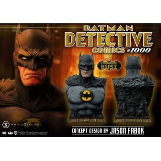 Prime 1 Studio DC Comics Bust Batman Detective Comics #1000 Concept Design by Jason Fabok 26 cm