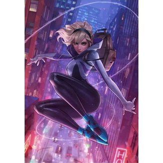 Sideshow Collectibles Marvel Comics Art Print Spider-Gwen Unmasked Variant 46 x 56 cm - unframed