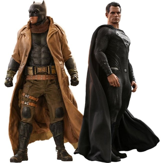 Hot Toys Zack Snyder's Justice League Action Figure 2-Pack 1/6 Knightmare Batman and Superman 31 cm