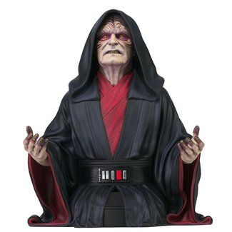 Gentle Giant Studios Star Wars: The Rise of Skywalker - Emperor Palpatine 1/6 Scale Bust