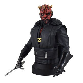 Gentle Giant Studios Star Wars Solo Bust 1/6 Darth Maul Crimson Dawn 15 cm