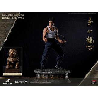 Blitzway Bruce Lee Hybrid Type Superb Statue 1/4 Bruce Lee Tribute Version 4 57 cm