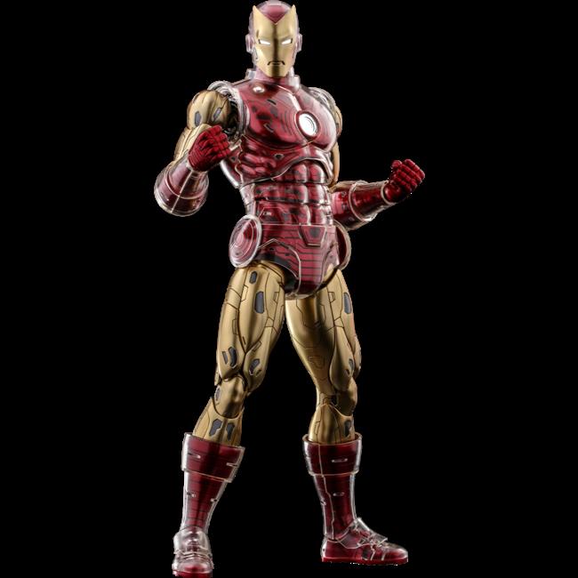 Iron Man Origins Collection Diecast Figure 1/6 Iron Man Suit Armor