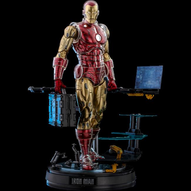 Iron Man Origins Collection Deluxe Diecast Figure 1/6 Iron Man Suit Armor