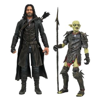 Diamond Select Toys Lord of the Rings Select Action Figures 18 cm Series 3 Assortment (2)