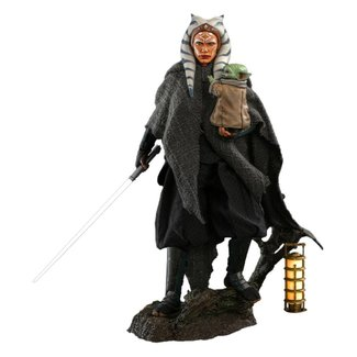 Hot Toys Star Wars The Mandalorian Action Figure 2-Pack 1/6 Ahsoka Tano & Grogu 29 cm