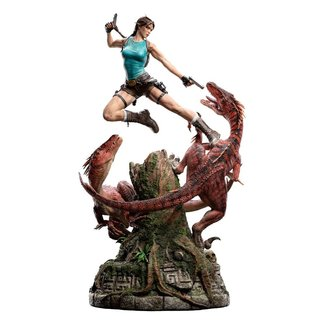 Weta Workshop Tomb Raider Statue 1/4 Lara Croft The Lost Valley 80 cm