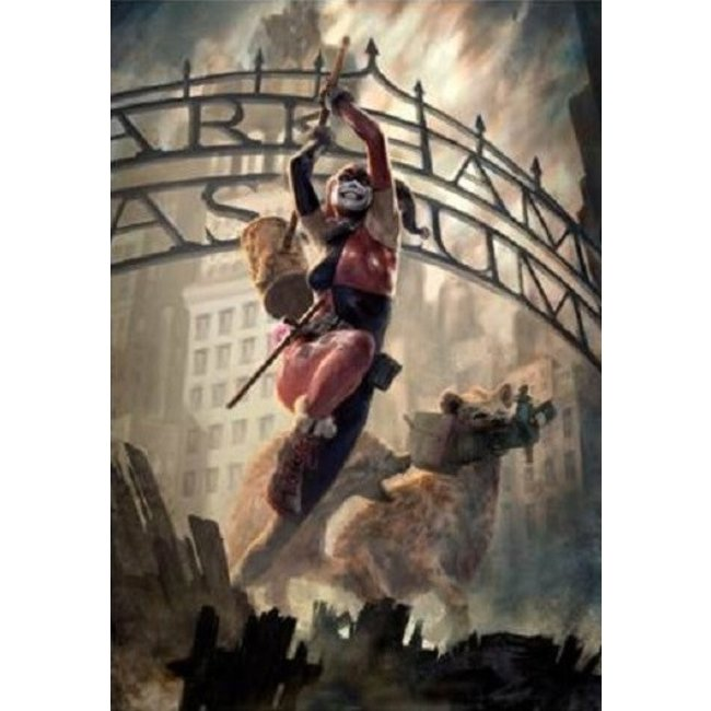 Sideshow Collectibles DC Comics: Harley Quinn Unframed Art Print