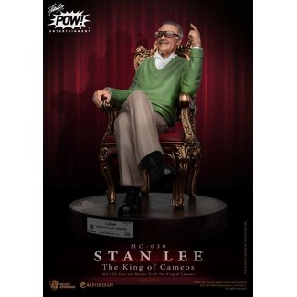 Beast Kingdom Stan Lee Master Craft Statue The King of Cameos 33 cm