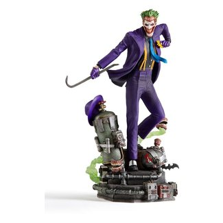 Iron Studios DC Comics Deluxe Art Scale Statue 1/10 The Joker 23 cm