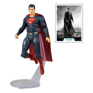 McFarlane DC Justice League Movie Action Figure Superman (Blue/Red Suit) 18 cm