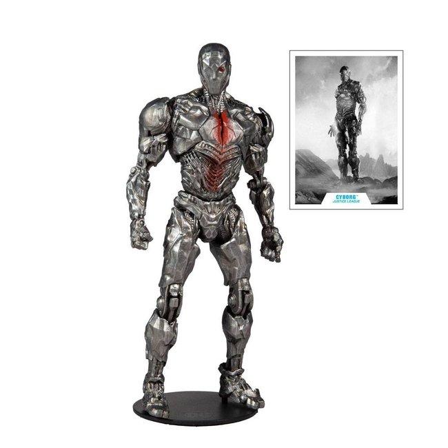 McFarlane DC Justice League Movie Action Figure Cyborg (Helmet) 18 cm