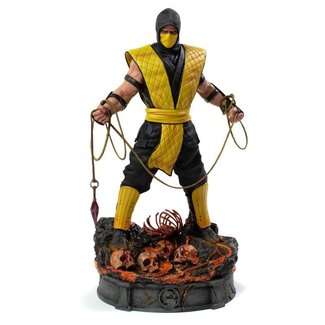Iron Studios Mortal Kombat Art Scale Statue 1/10 Scorpion 22 cm