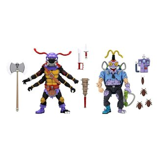 NECA  Teenage Mutant Ninja Turtles Action Figure 2-Pack Antrax & Scumbug 18 cm