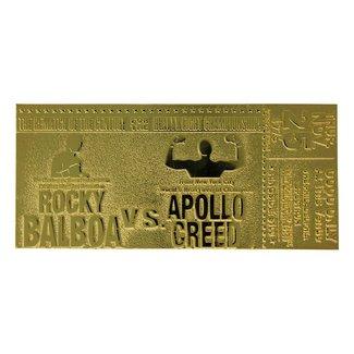 FaNaTtik Rocky II Replica Superfight II Ticket (gold plated)