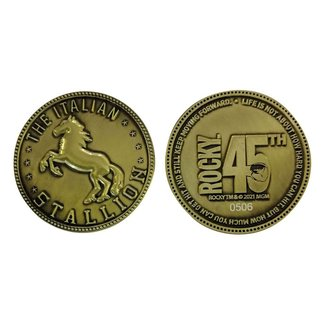 FaNaTtik Rocky Collectable Coin 45th Anniversary The Italian Stallion Limited Edition