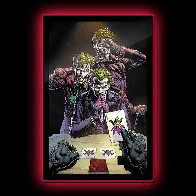 Brandlite DC Comics: Three Jokers Comic Cover LED Poster Sign