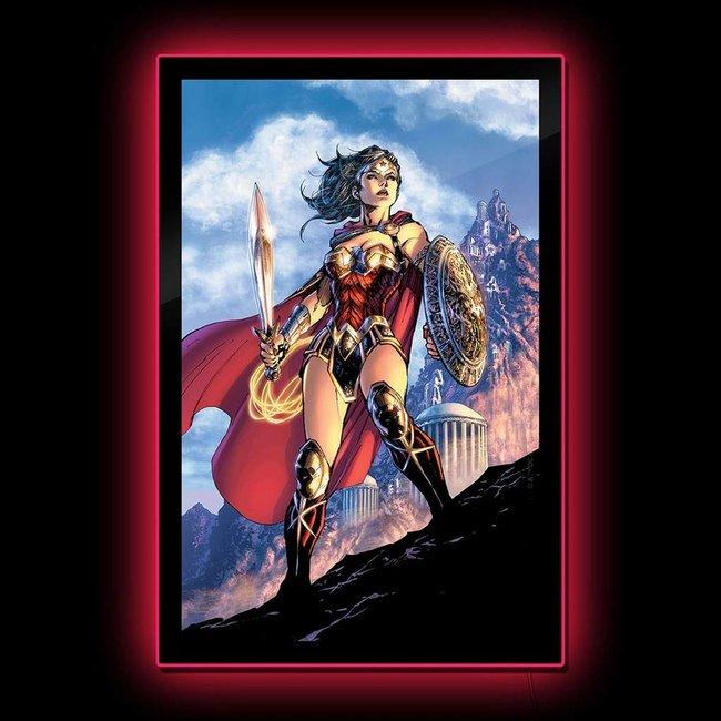 Brandlite DC Comics: Wonder Woman Comic Cover LED Poster Sign