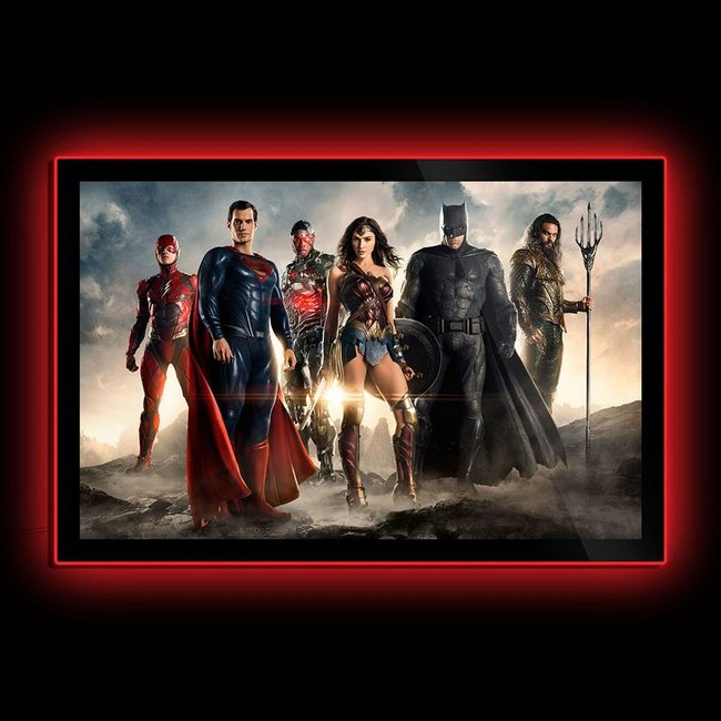 Sideshow Collectibles DC Comics: Justice League - Movie Poster LED Poster Sign
