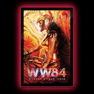 Brandlite DC Comics: Wonder Woman 1984 - Wonder Woman LED Poster Sign