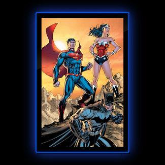 Brandlite DC Comics: Trinity LED Poster Sign