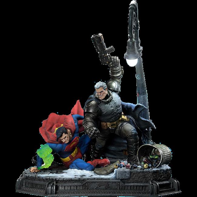 DC Comics: The Dark Knight Master Race - Deluxe Batman vs Superman 1:3 Scale Statue
