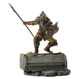 Iron Studios Lord Of The Rings BDS Art Scale Statue 1/10 Armored Orc 20 cm