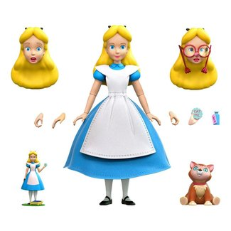 Super7 Alice in Wonderland Disney Ultimates Action Figure Alice 18 cm