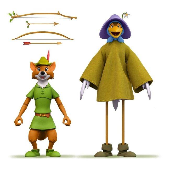 Super7 Robin Hood Disney Ultimates Action Figure Robin Hood Stork Costume 18 cm
