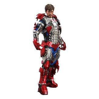 Hot Toys Iron Man 2 Movie Masterpiece Action Figure 1/6 Tony Stark (Mark V Suit Up Version) 31 cm
