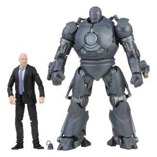 Hasbro The Infinity Saga Marvel Legends Action Figures 2021 Obadiah Stane & Iron Monger (Iron Man) 15 cm