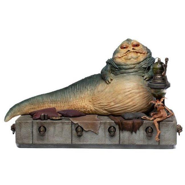 Iron Studios Star Wars Deluxe Art Scale Statue 1/10 Jabba The Hutt 23 cm