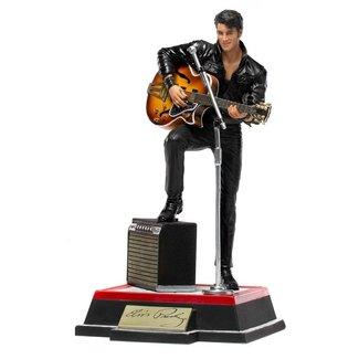 Iron Studios Elvis Presley Deluxe Art Scale Statue 1/10 Comeback Special 23 cm