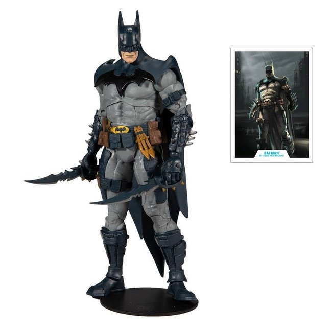 McFarlane DC Multiverse Action Figure Batman Designed by Todd McFarlane 18 cm
