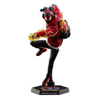 Hot Toys Spider-Man: Miles Morales Videogame Masterpiece Action Figure 1/6 Miles Morales Bodega Cat Suit 29cm