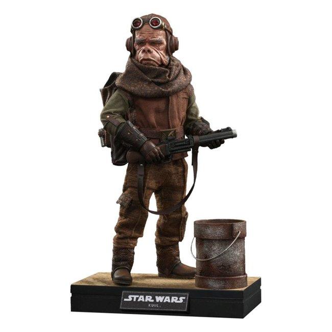 Star Wars The Mandalorian Action Figure 1/6 Kuiil 25 cm