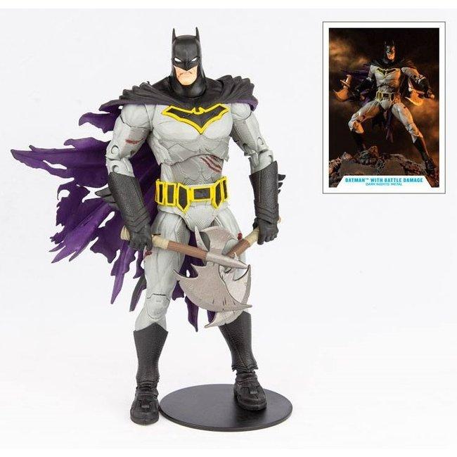 DC Multiverse Action Figure Batman with Battle Damage (Dark Nights: Metal) 18 cm