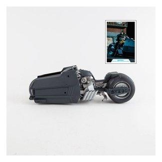 McFarlane DC Multiverse Vehicles White Knight Batcycle