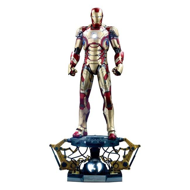 Hot Toys Iron Man 3 Action Figure 1/4 Iron Man Mark XLII Deluxe Version 49 cm