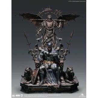 Queen Studios DC Comics Statue 1/4 Batman on Throne Premium Edition 92 cm