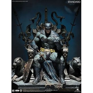 Queen Studios DC Comics Statue 1/4 Batman on Throne 75 cm