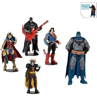 DC Multiverse Build A Action Figure Death Metal Set (4)