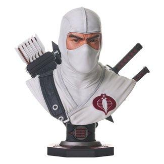Diamond Select Toys G.I. Joe Legends in 3D Bust 1/2 Storm Shadow 25 cm