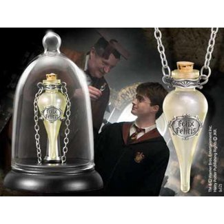 Noble Collection Felix Felicis Pendant and Display