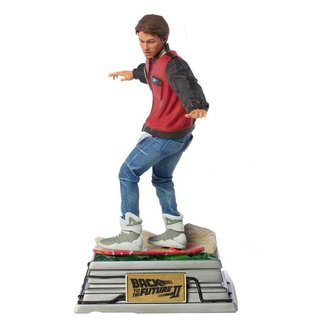 Iron Studios Back to the Future II Art Scale Statue 1/10 Marty McFly on Hoverboard 22 cm